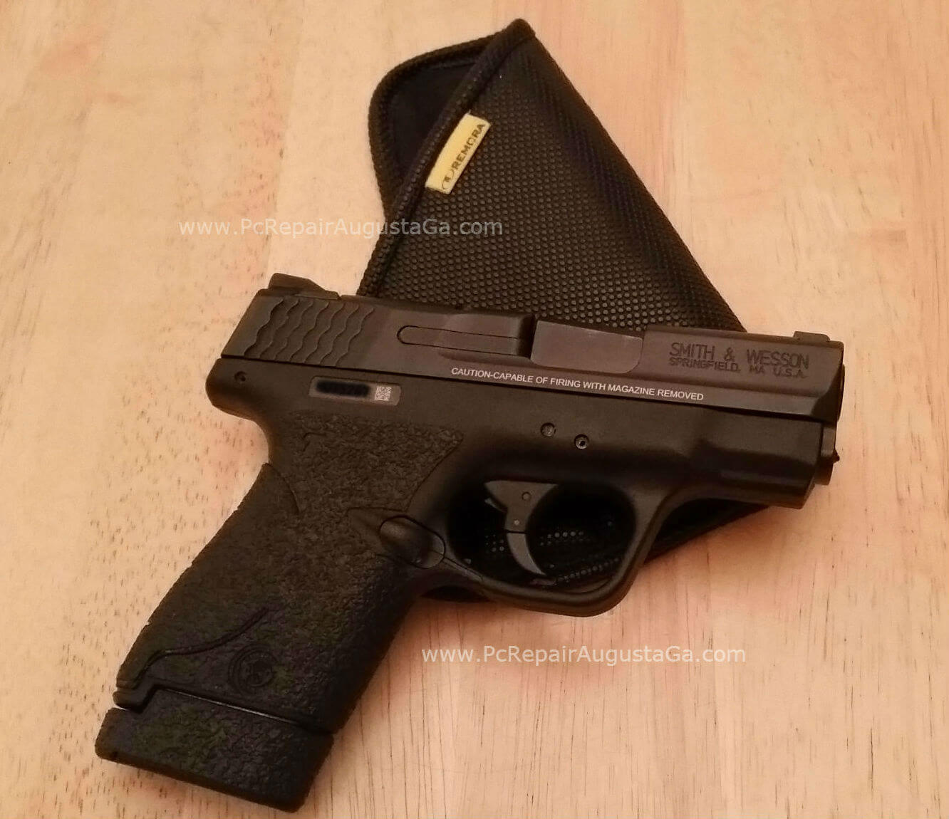 Smith & Wesson M&p Shield 9mm Leather Holster | CINEMAS 93