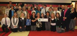PCRTA Volunteers with Junior Achievement Students