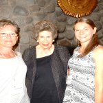 Patti Bowman, Jan Fencl, Francesca Bowman