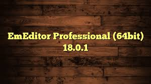 EmEditor Professional 18.0.1 Crack + Serial Key Latest Version Free Download