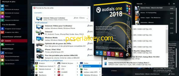 Audials One 2018.1.50000.0 Crack + Patch Free Download