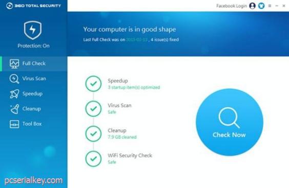 360 Total Security 10.2.0.1092 Crack + Full Key Download