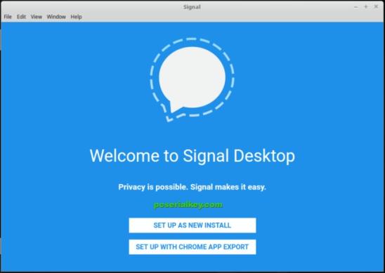 Signal Desktop 1.21.0 Crack + Serial Key 2019