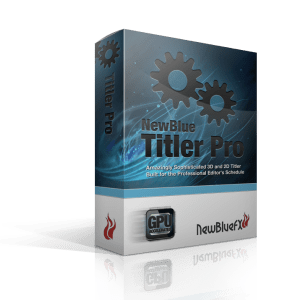 NewBlueFX Titler Pro 7 Ultimate Crack Full Version