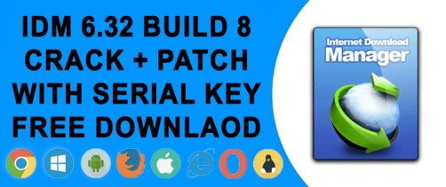 IDM Crack 6 32 build 8 with IDM Serial Key Free Download