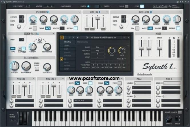 Sylenth1 3.070 Crack + Serial Key (2021) Full Version Free