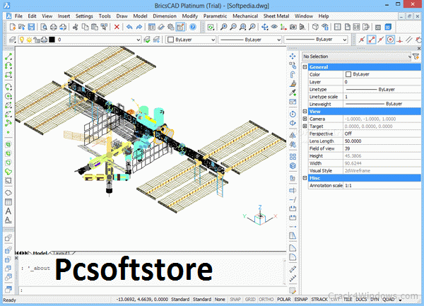 Download BricsCad Platinum 21.2.02 Crack + License Key 2021