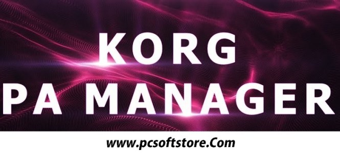 KORG PA Manager Crack