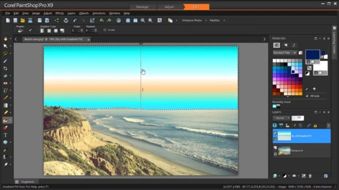 Corel PaintShop Pro 2018 license key Free Download