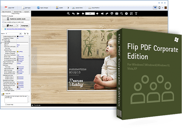 Flip PDF Corporate Edition 2.4.9.43 With Crack Full Free Download Latest