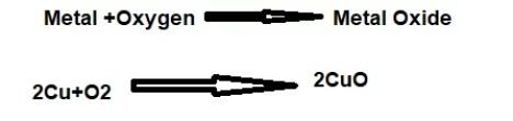 reaction of metals