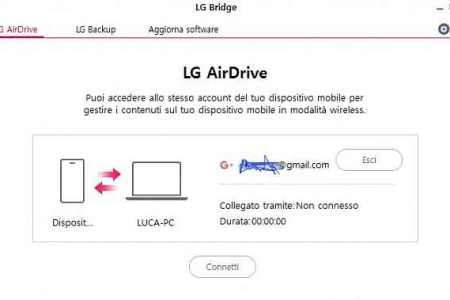 LG Airdrive | LG Bridge Download For Windows