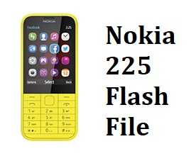 Nokia 225 Flah File Download