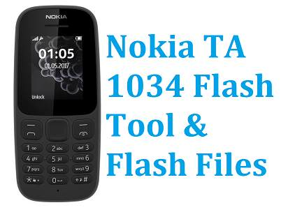 nokia ta 1034 flash tool & flash file