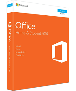 Microsoft Office Home and Student 2016 1-Desktop