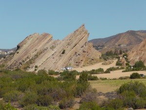 Tilted Vasquez Rocks
