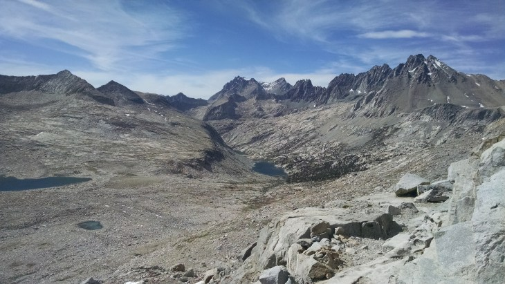 From Mather Pass