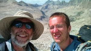 Rick and Kevin on Mather Pass