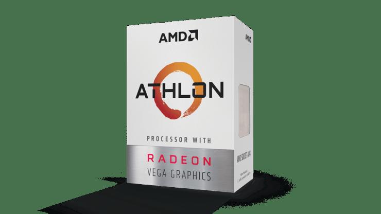 Procesor AMD Athlon 200GE pudełko