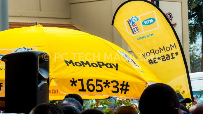 MomoPay is a cashless payment system that allows MTN customers to pay for their goods/services directly from their mobile money accounts. Photo by Olupot Nathan Ernest/PC TECH MAGAZINE