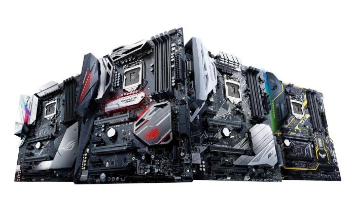 ASUS Announces Z370 Series Motherboards