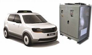PCTI battery charger for hybrid vehicle