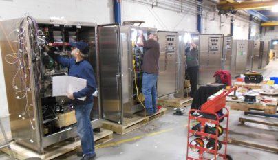 Phase 3 of PCTI's DC/AC Inverters for SEPTA ranging from 50-200KVA