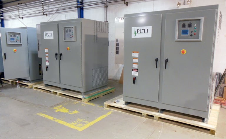 300 & 350KVA Shorepower Frequency Converters