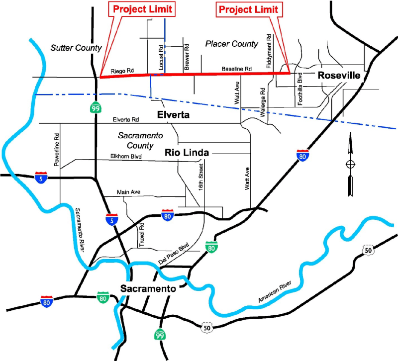 Project Location Map