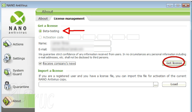 Antivirus pour ordinateur, Meilleur antivirus, Antivirus, NANO AntiVirus gratuitement, télécharger NANO AntiVirus