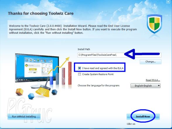 ToolWiz Care, optimisation du PC, ordinateur, optimisation ordinateur, nettoyer le disque dur, défragmentation