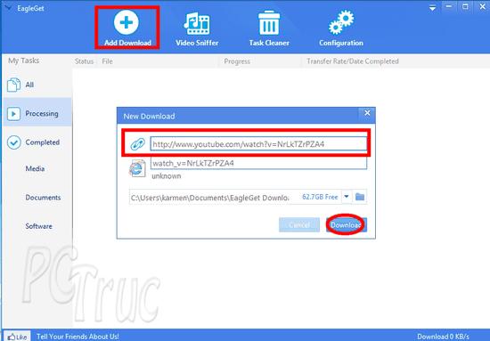 Téléchargez rapidement des fichiers