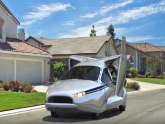 voiture volante, les voitures du future, les voitures de l'avenir