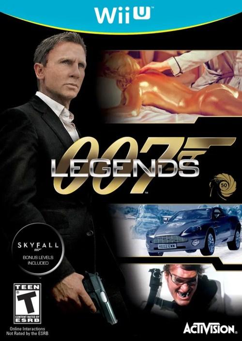 007 Legends for Wii U