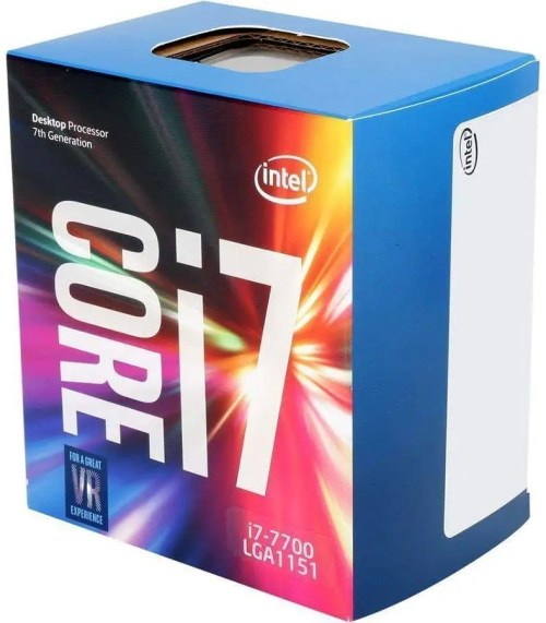 Intel Core i7-7700 Desktop Processor (BX80677I77700)