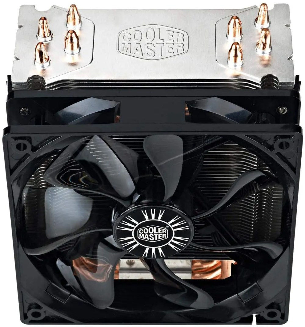 Cooler Master Hyper 212 EVO 120 mm PWM CPU Air Cooler/Cooling Fan (RR-212E-20PK-R1)