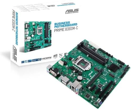 ASUS PRIME B360M-C/CSM Motherboard