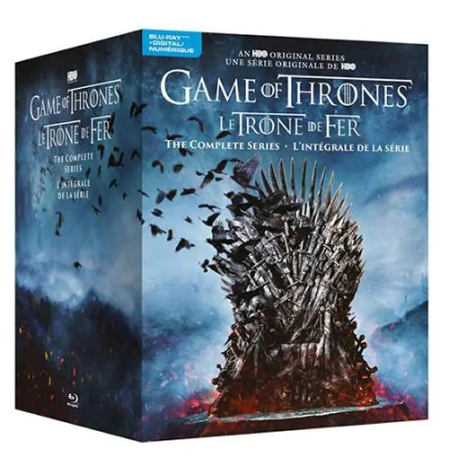 Game of Thrones: The Complete Series Blu-ray & Digital Box Set (Bilingual)
