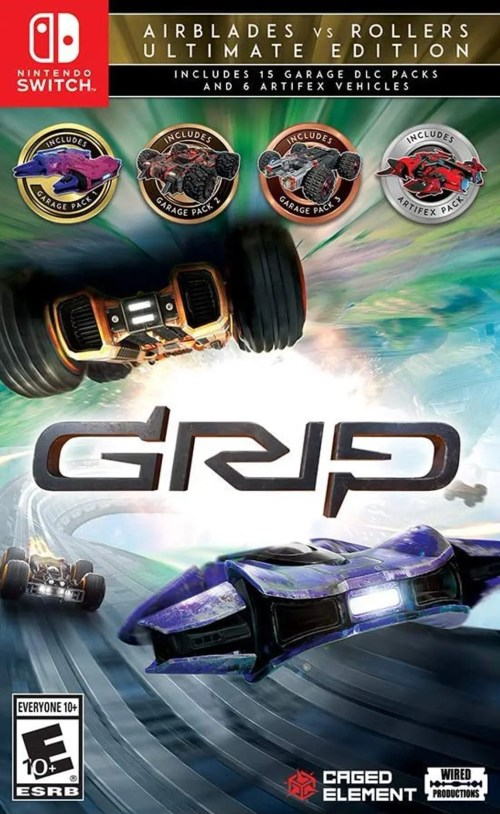 Grip: Combat Racing - Rollers vs Airblades (Ultimate Edition) for Nintendo Switch