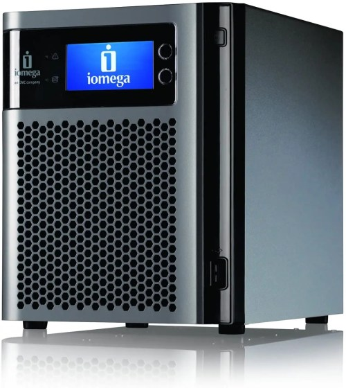 iomega StorCenter px4-300d 4 Bay 12 TB (4 x 3 TB) Server Network Storage (35975)