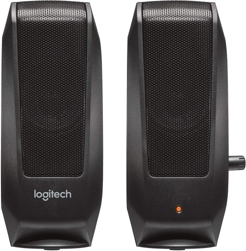 Logitech S-120 Speakers (Black)