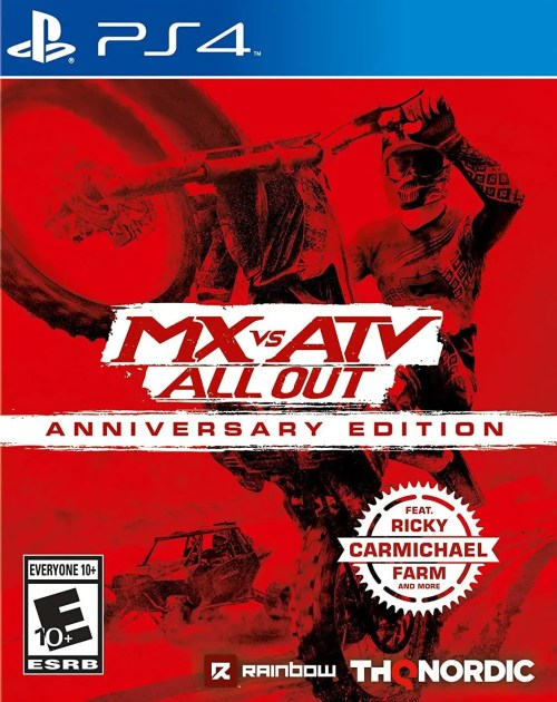 MX vs ATV: All Out Anniversary Edition for PS4