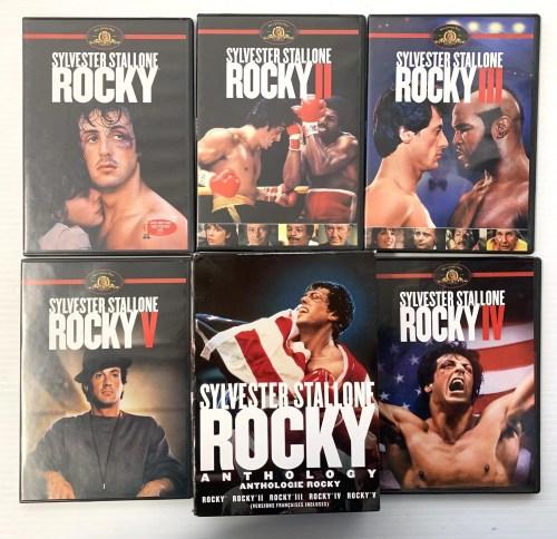 Rocky Anthology DVD Box Set
