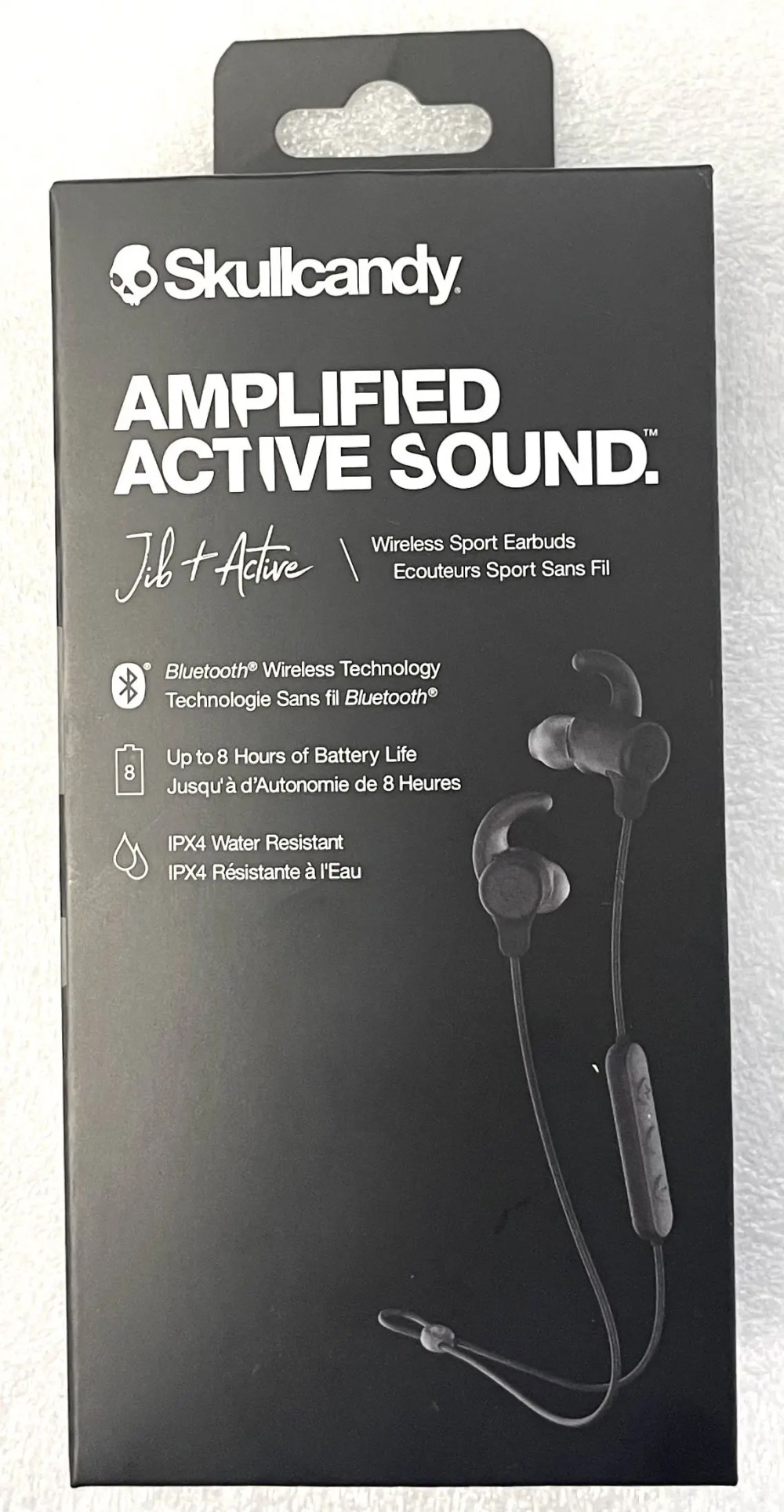 Skullcandy Amplified Active Sound Jib+ Active Wireless Earbuds