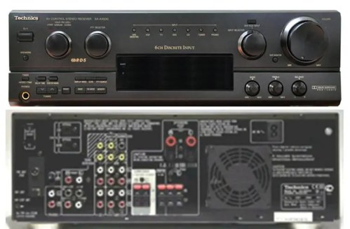 Technics SA-AX530 5.1 Channel AV Control Stereo Receiver