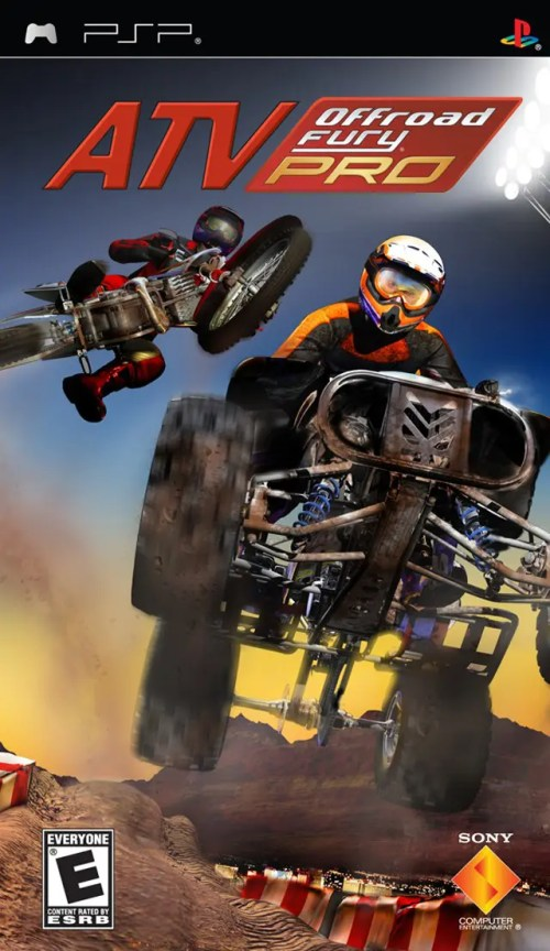 ATV Offroad Fury Pro for PSP