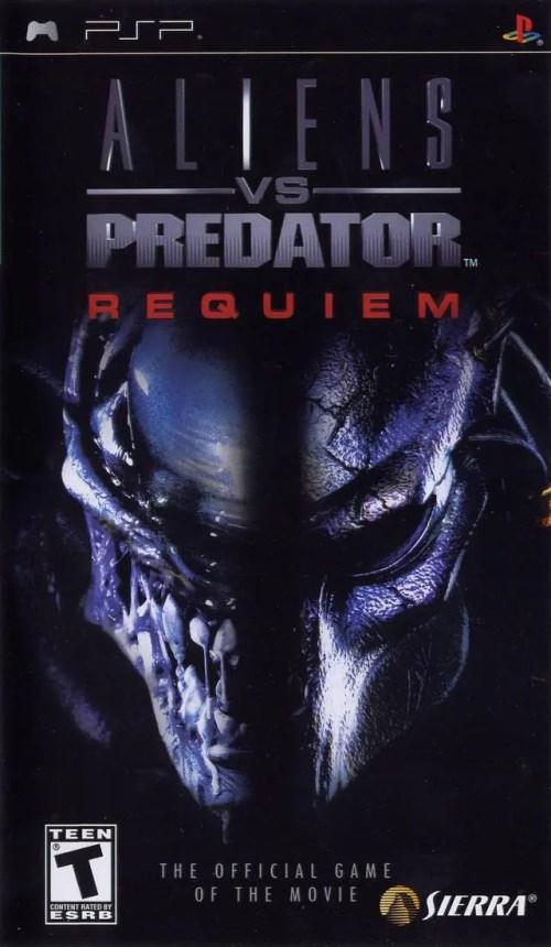 Aliens vs. Predator: Requiem for PSP