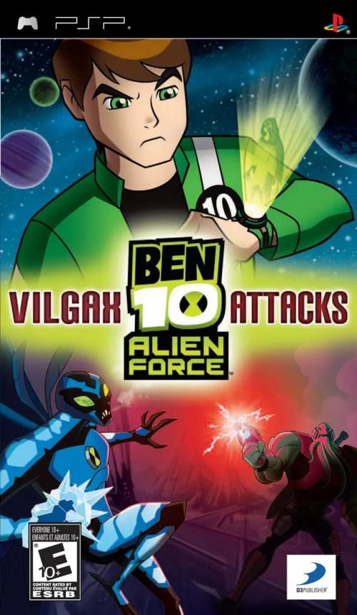 Ben 10 Alien Force: Vilgax Attacks for PSP