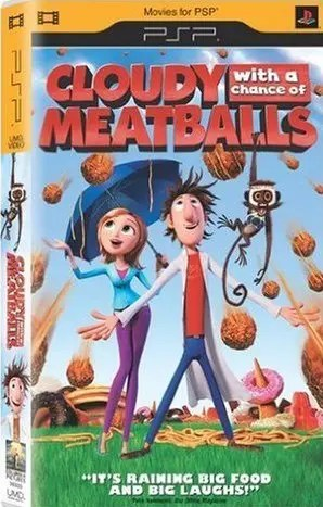 Cloudy with a Chance of Meatballs for PSP UMD Video