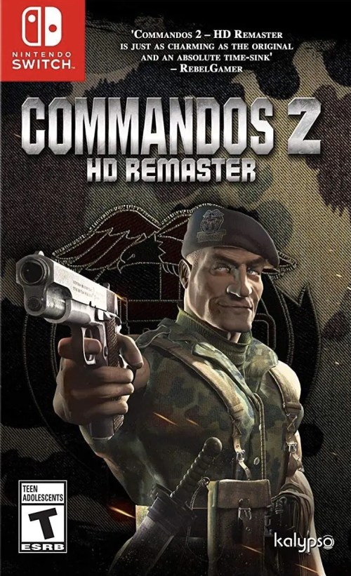 Commandos 2: HD Remaster for Nintendo Switch
